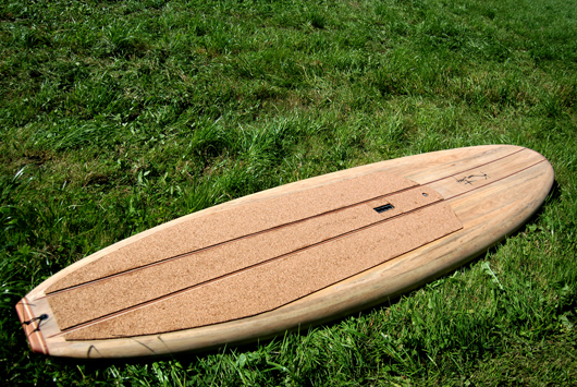 Wooden Stand Up Paddle Surfboard By Kun Tiqi